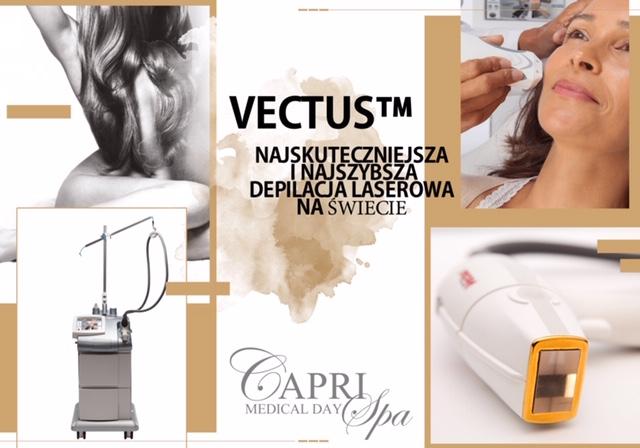 Laserowe usuwanie owłosienia (Medyczny Laser Vectus)